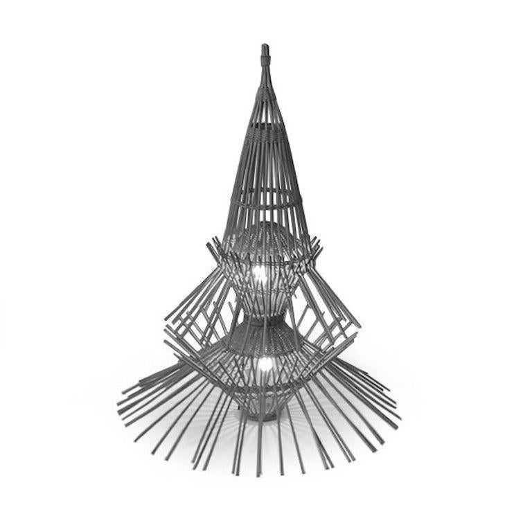 French Floor Lamp Model AR65 by Abraham and Rol for Disderot For Sale