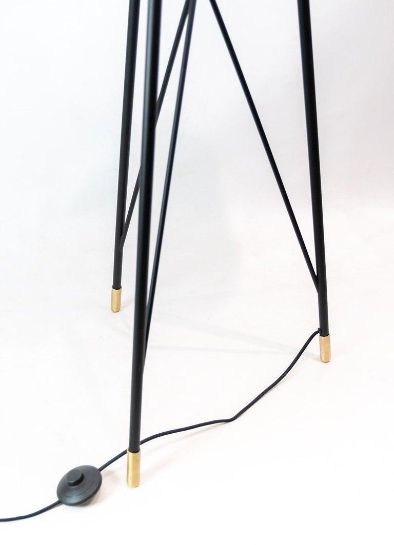 Mid-20th Century Floor Lamp, Model Carronade, by Le Klint For Sale