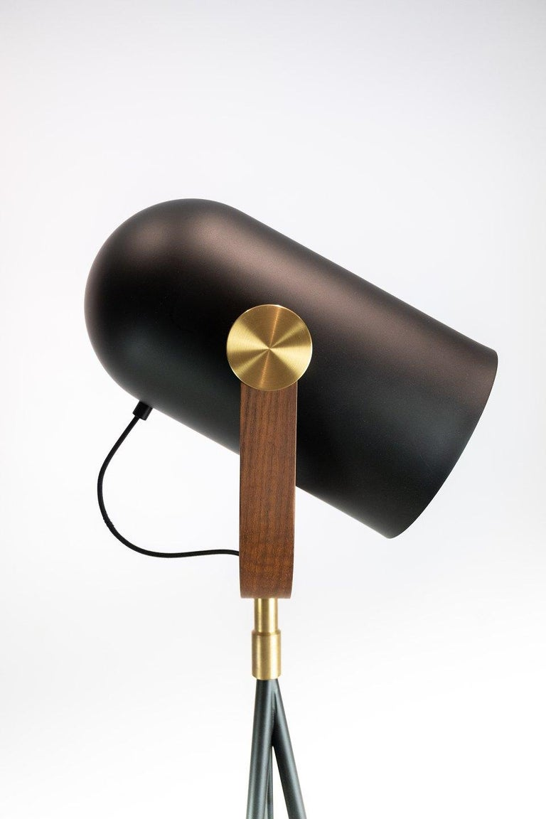 Metal Floor Lamp, Model Carronade, by Le Klint For Sale