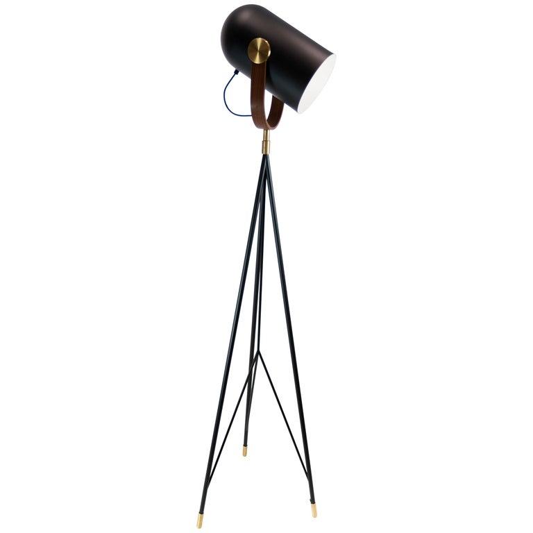 Floor Lamp, Model Carronade, by Le Klint For Sale