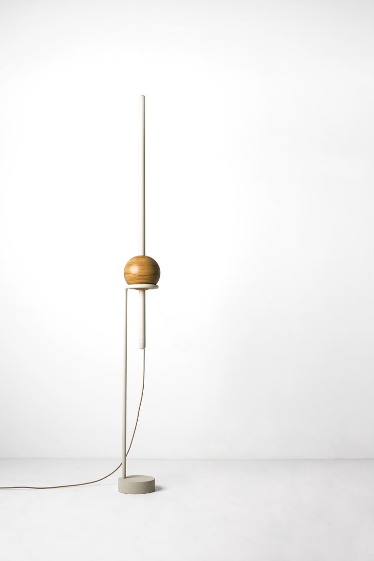 Other Floor Lamp Pivô on Tropical Brazilian Hardwood For Sale