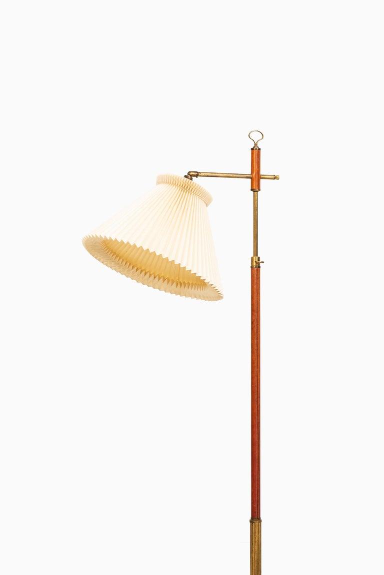 Danish Floor Lamp Produced in Denmark For Sale