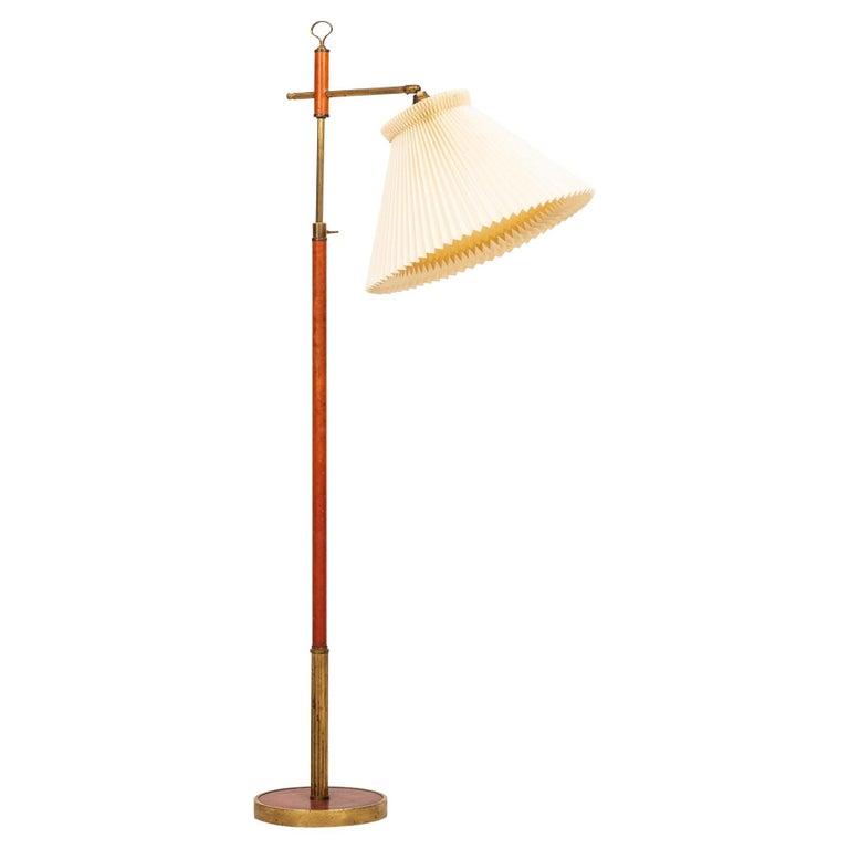 Floor Lamp Produced in Denmark For Sale