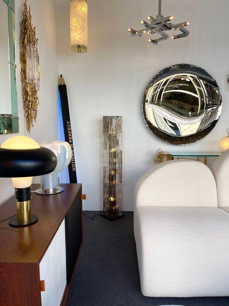 Floor Lamp Tower Murano Glass by Carlo Nason for Mazzega, Italy, 1970s For Sale 6