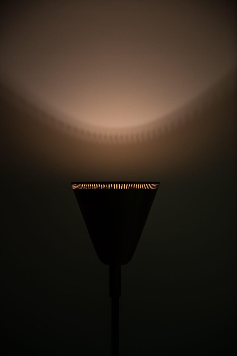 Mid-20th Century Floor Lamp / Uplight Probably Produced in Sweden For Sale