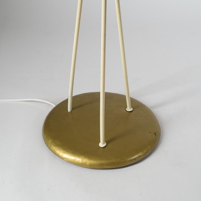 Mid-20th Century Floor Lamp with Acrylic Shades, circa 1960 For Sale