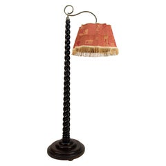 Floor Lamp with Adjustable Height, 1910s