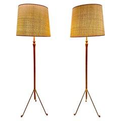 Floor Lamps, Austria, 1950s-1960s