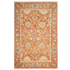 Floor Orange Rugs, Living Room Rugs with Persian Rugs Zeigler Style Design