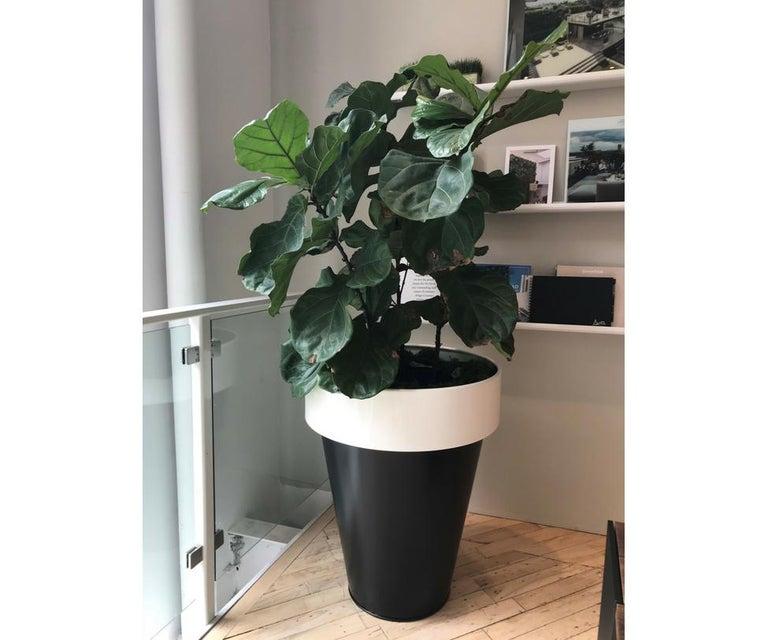 Italian Omega 90 Outdoor Planter by De Castelli For Sale