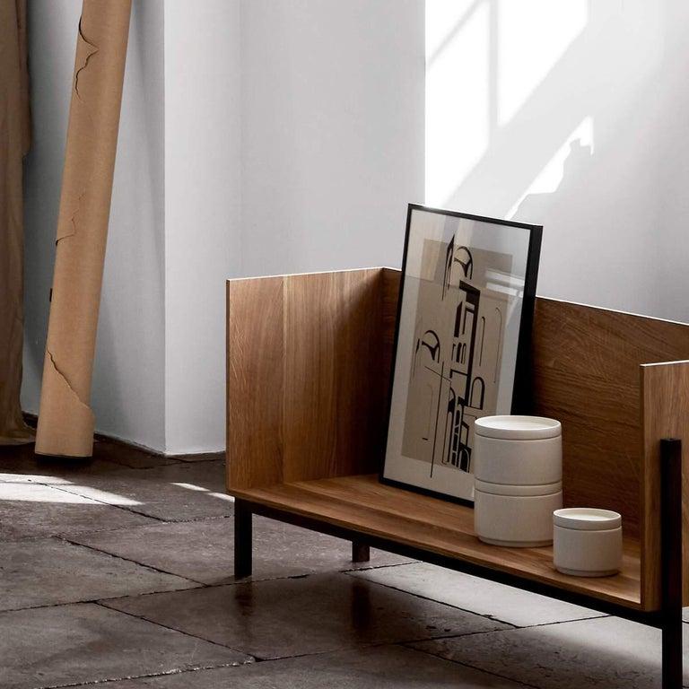 Modern Floor Shelf by Kristina Dam Studio For Sale