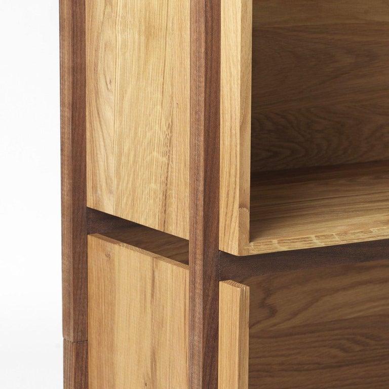 Danish Floor Shelf by Kristina Dam Studio For Sale