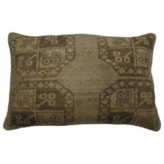 Floor Size Tribal Antique Ersari Rug Pillow