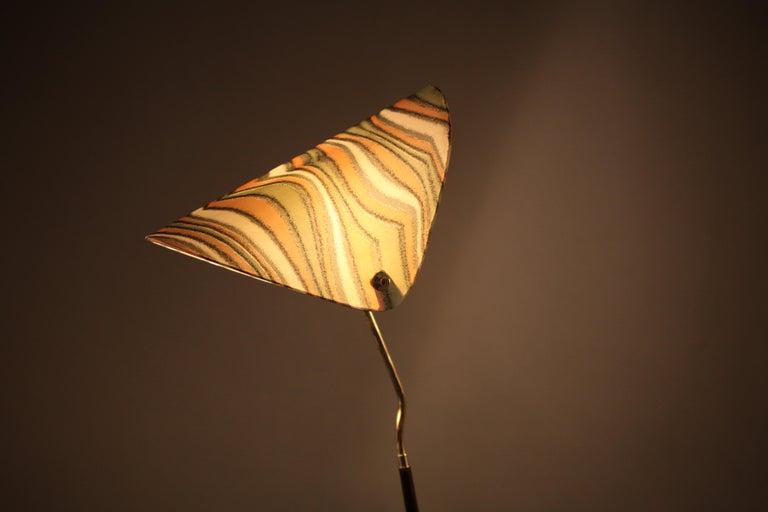 20th Century Floorlamp Designed Rupert Nikoll Vienna, 1950 For Sale