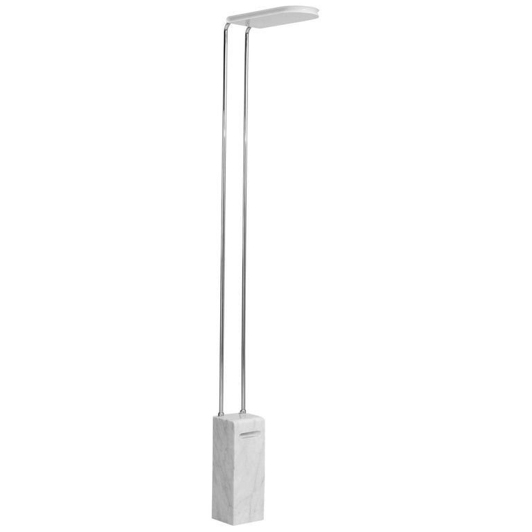 Floorlamp with Marble Base for Skipper, Italy For Sale