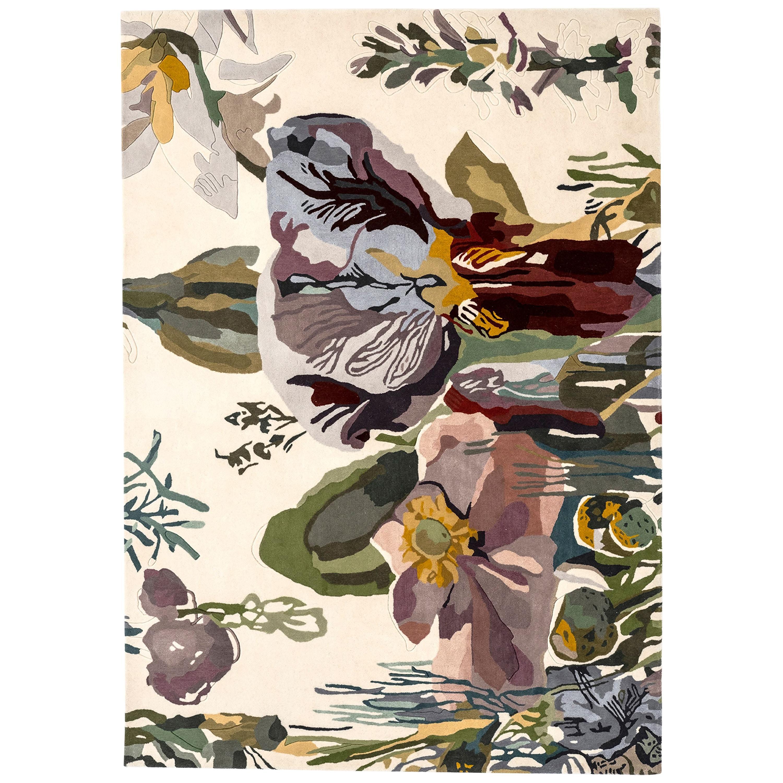 NEW - Flora Backyard Standard Natural Wool Rug for Nani Marquina by Santi Moix