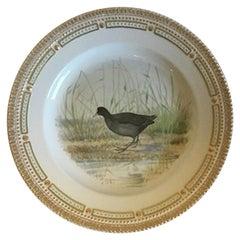Flora Danica Bird Dinner Plate No 240/3549