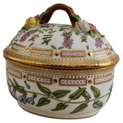 Flora Danica Large Sugar Bowl by Royal Copenhagen