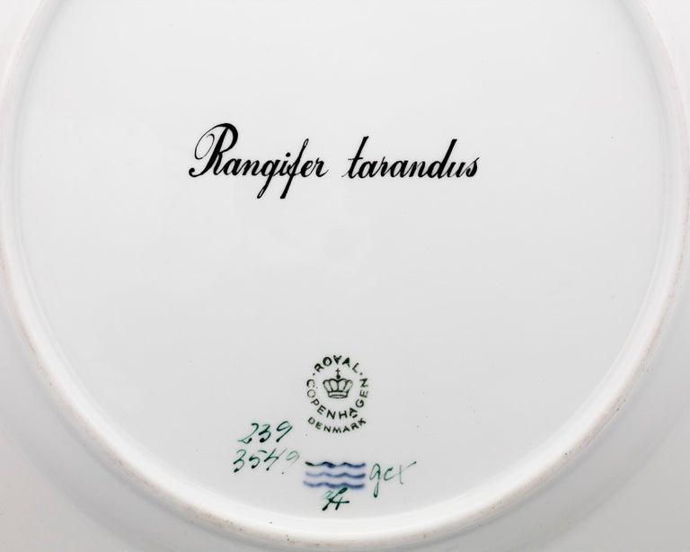 Other Flora Danica Reindeer Dinner Plate For Sale