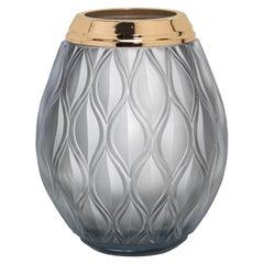 Flora Large Gray Vase