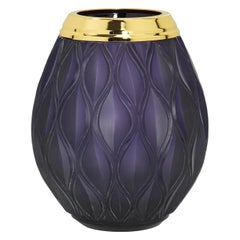 Flora Large Purple Vase
