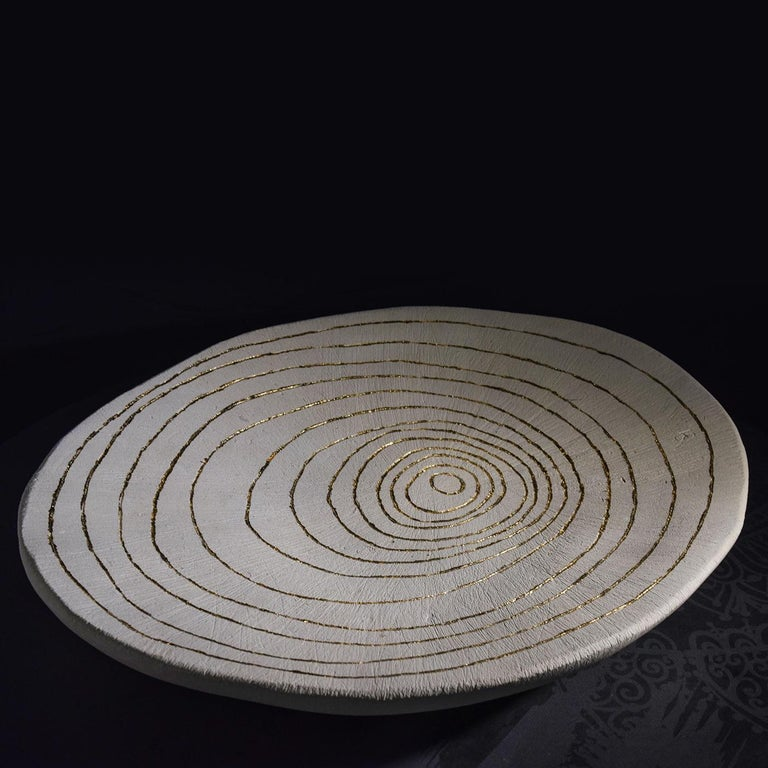 Flora Lecce Stone Bowl  In New Condition For Sale In Milan, IT