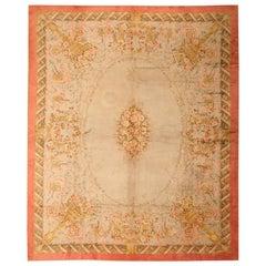 Floral Antique French Savonnerie Carpet