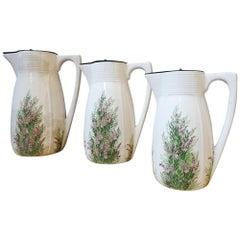Floral Art Nouveau Porcelain Jug Villeroy & Boch WMF