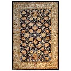 Floral Carpet Rug Oriental Rugs Gold Living Room Rugs Handmade Carpets