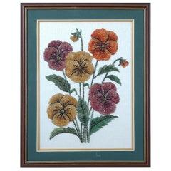 Floral Gemstone Artwork