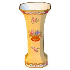 Floral Vase by Spode Copelands China, Retailed by Tiffany & Co. New York
