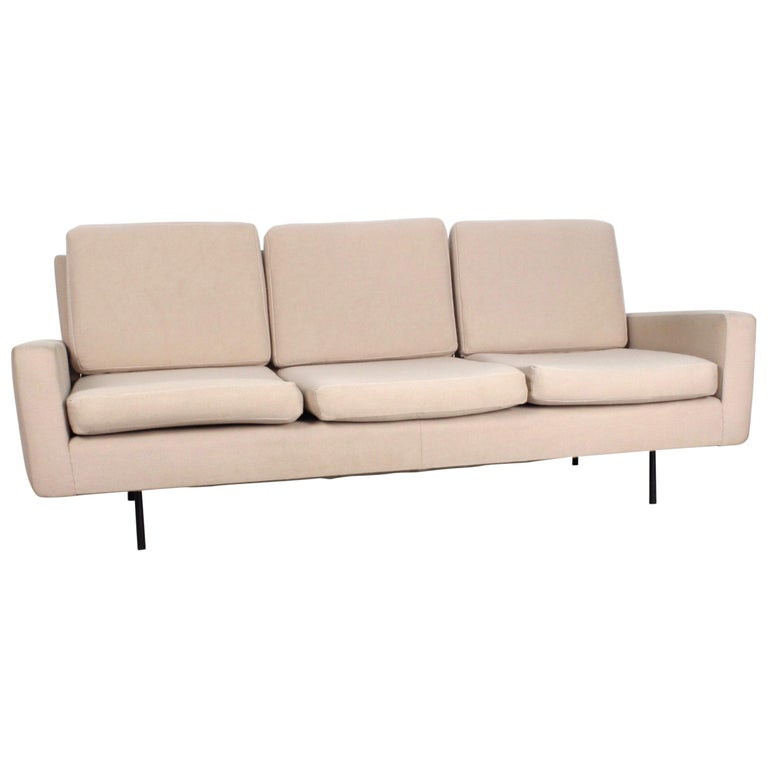 Florence Knoll 3-Seat Sofa For Sale