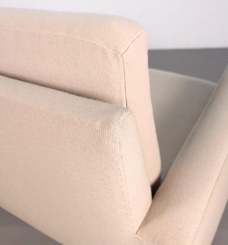 Florence Knoll 3-Seat Sofa In Fair Condition For Sale In Munich, DE