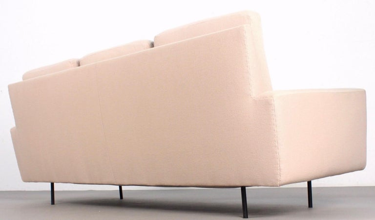 Mid-20th Century Florence Knoll 3-Seat Sofa For Sale