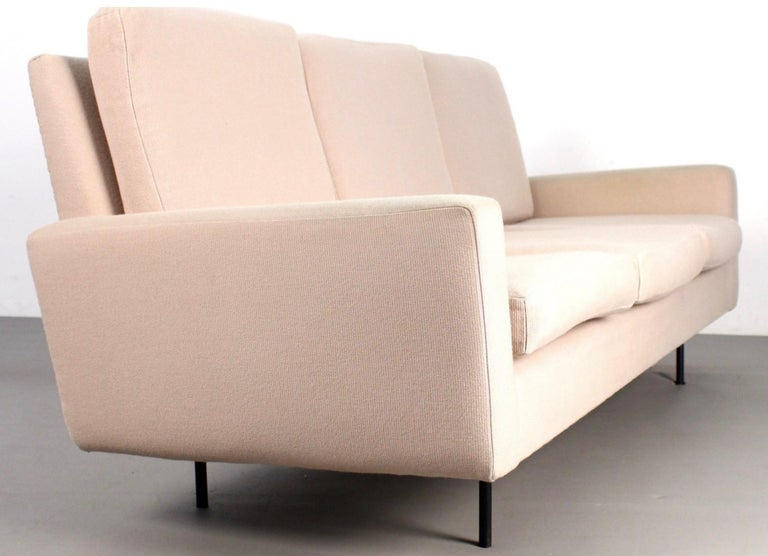 Fabric Florence Knoll 3-Seat Sofa For Sale
