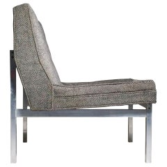 Florence Knoll Aluminum Lounge Chair