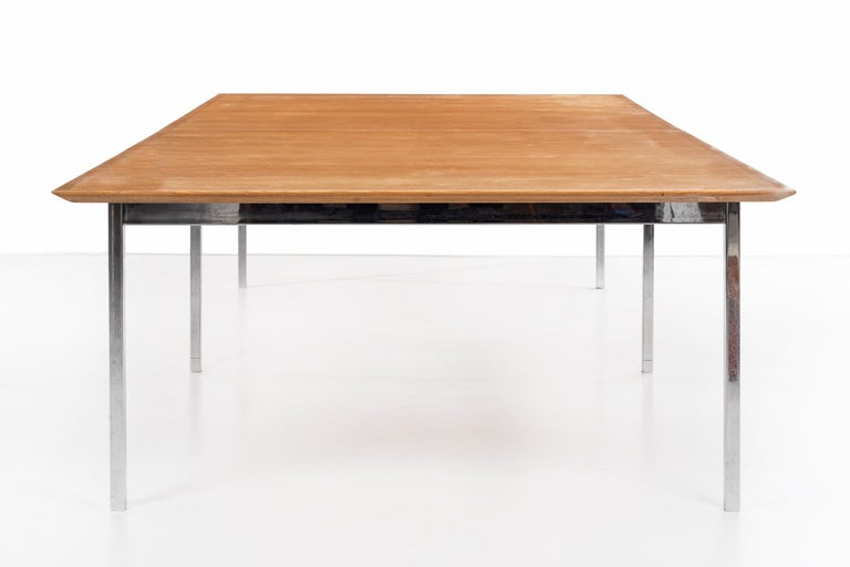 American Florence Knoll Conference Table or Dining Table For Sale