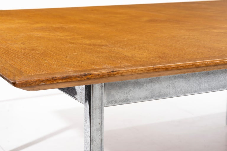 Florence Knoll Conference Table or Dining Table For Sale 1