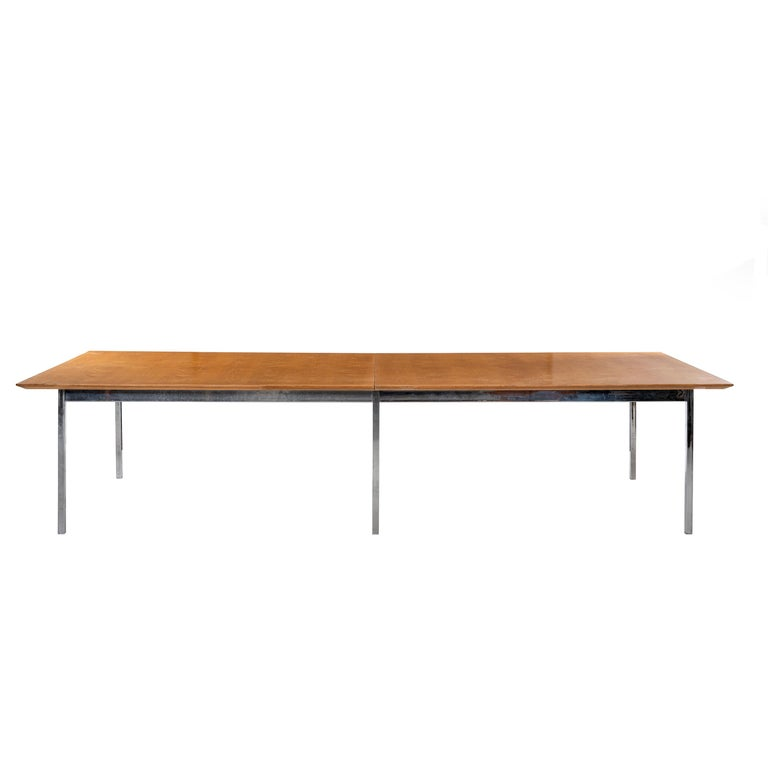 Florence Knoll Conference Table or Dining Table For Sale