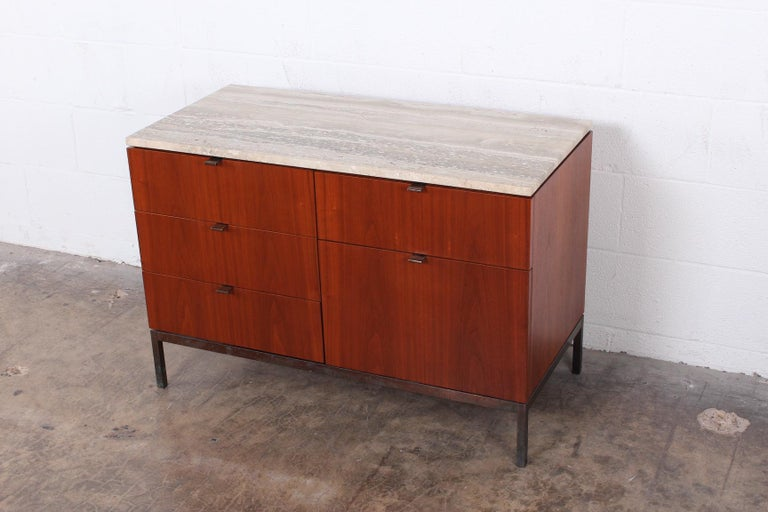 Mid-20th Century Florence Knoll Credenza For Sale