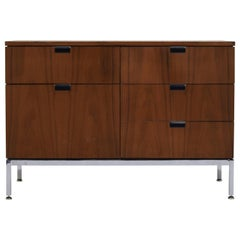 Florence Knoll Credenza in All Walnut