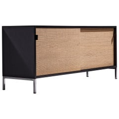 Florence Knoll Credenza with Cane Sliding Doors