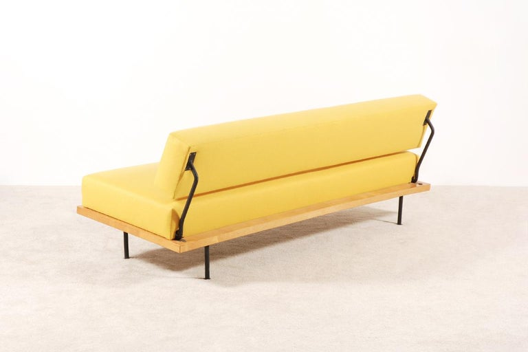 American Florence Knoll, Daybed for Knoll International, circa 1950 For Sale