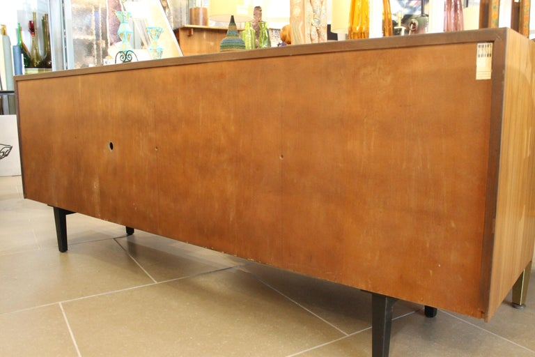 An Early Florence Knoll for Knoll Associates Credenza For Sale 3