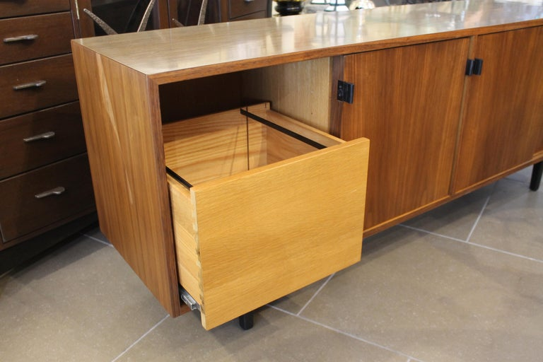 Mid-Century Modern An Early Florence Knoll for Knoll Associates Credenza For Sale
