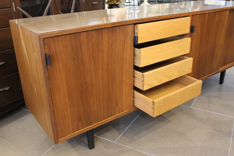 American An Early Florence Knoll for Knoll Associates Credenza For Sale