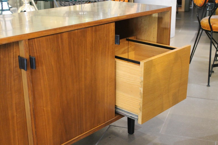 Mid-20th Century An Early Florence Knoll for Knoll Associates Credenza For Sale