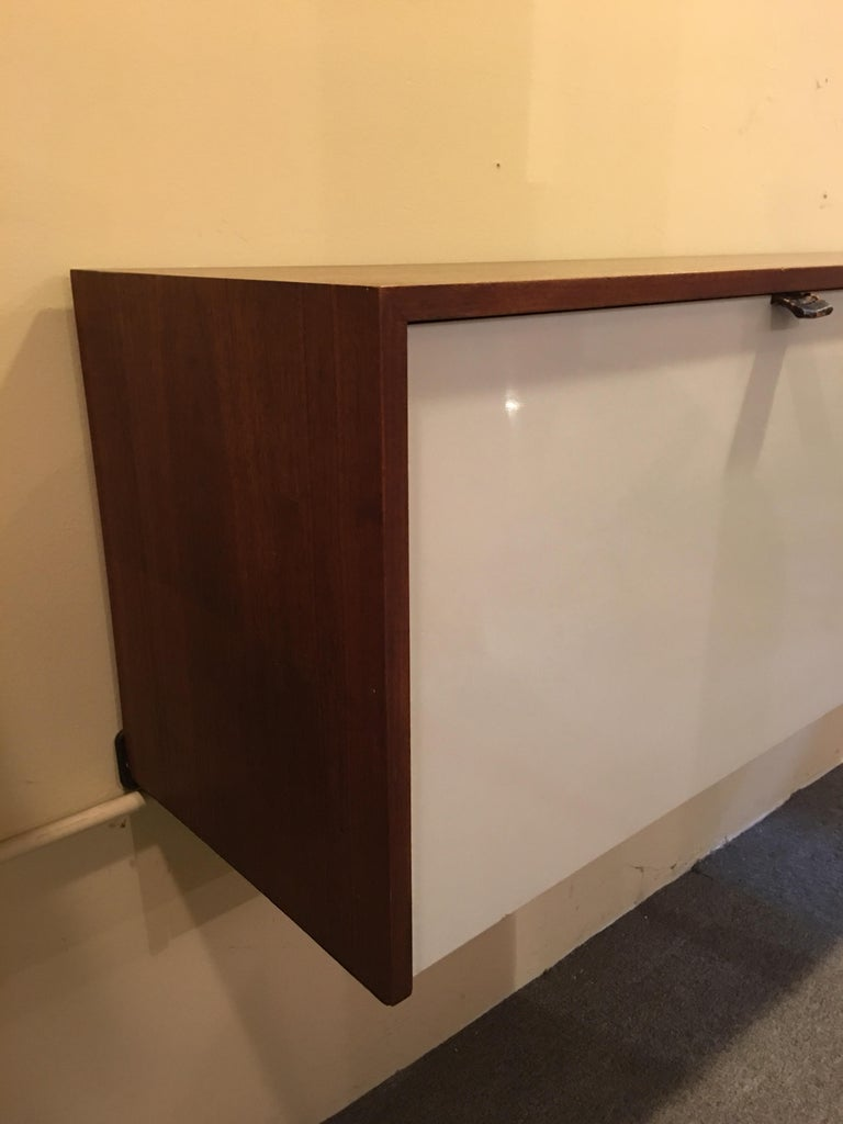 American Florence Knoll for Knoll Hanging Wall Cabinet For Sale