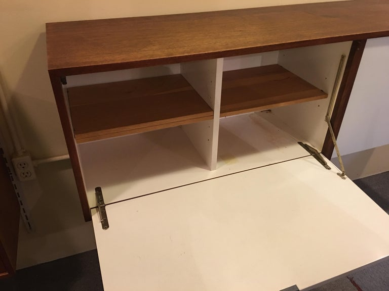 Mid-20th Century Florence Knoll for Knoll Hanging Wall Cabinet For Sale