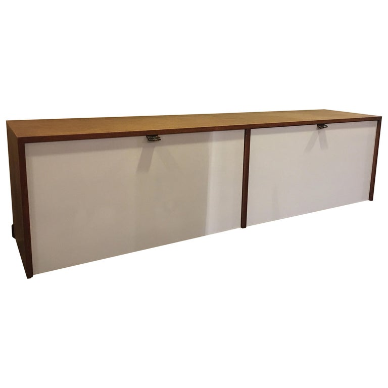 Florence Knoll for Knoll Hanging Wall Cabinet For Sale